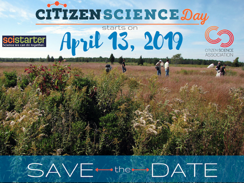 citizen science day 2019 save the date